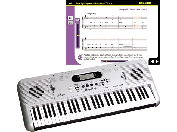 eMedia Piano Keyboard Starter Pack For Dummies - $99 99 - Free shipping for  Prime members