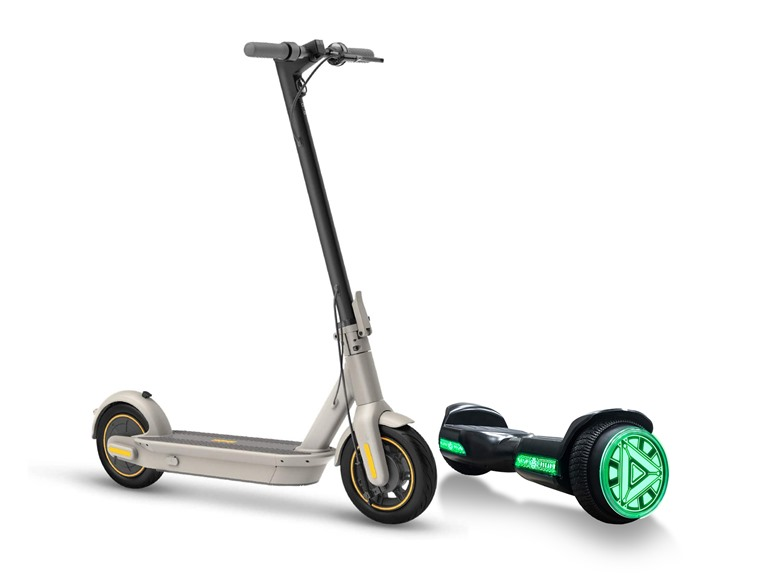 Segway & Voyager Scooters & Hoverboards (DS iRecertify & Liger)
