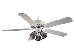 Royal Knight Builder 52-Inch Fan, White