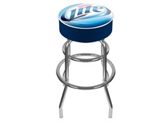Miller Lite Padded Bar Stool
