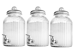 Springfield Set of 3 Beverage Dispensers