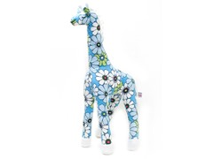Grady the Giraffe - Blue Flower Shower