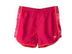 Girls Printed Short - Pink Bubble Skin