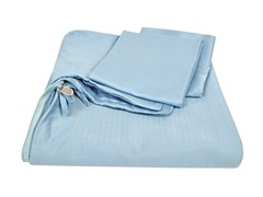 Homesource Clip 'n Zip Duvet Set-Stonewash-2 Sizes
