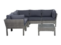 6-Piece Infinity Wicker Seating Set