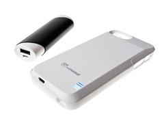 2300mAh Battery Case for iPhone 5/5s w/ 2100mAh Power Bank