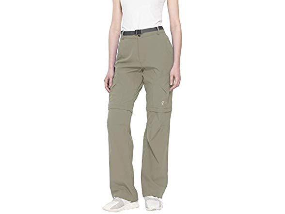 Zip-Off Quick-Dry Hiking Pants Little Donkey Andy Womens Stretch Convertible Pants