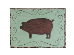 Pig Wall Plaque