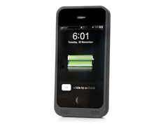 Black Battery Case for iPhone 4/4S