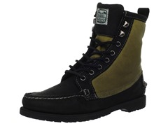 Sebago Kettle Boot, Black/Wax Canvas