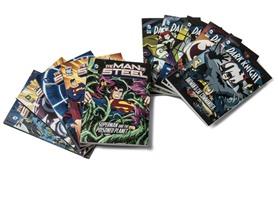 DC Comics 10-Pk Chapter Books (Batman/Superman)