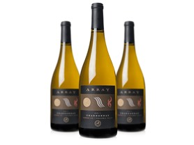 3-Pk. Array Cellars Valley Chardonnay