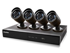 4CH/4 Cam 960H DVR Security System with 500GB HDD