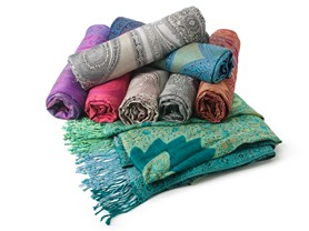 All-Over Paisley Wrap 4pk - Your Choice