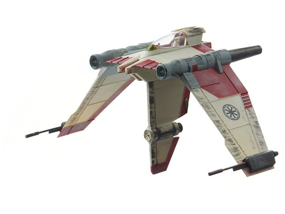 v 19 torrent starfighter snap model kit woot. Black Bedroom Furniture Sets. Home Design Ideas