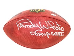 Randy White Signed Duke Football w/ SB