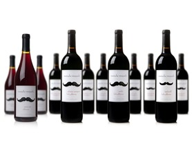 Mustache Vineyards Mixed Red Case