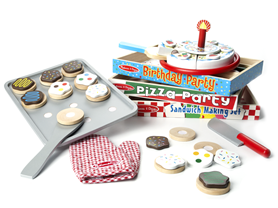 Melissa & Doug Wooden Food Bundle