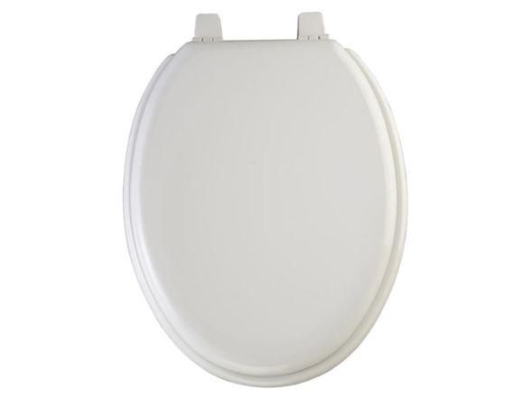17 Inch Round Plain Painted Toilet Seat Tools Garden