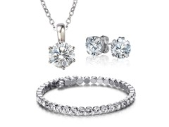Swarovski Elements Luxurious Crystal Set