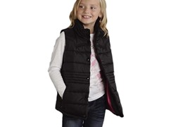 Black Quilted Vest (XS-XL)