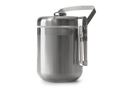 Oggi Stainless Steel Ice Bucket w/Tongs