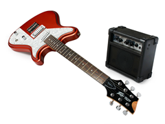 Peavey Retro Fire Electric Guitar & Amp