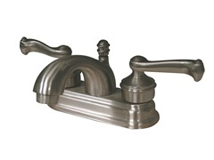Lavatory Faucet w/ Pop-up, Satin Nickel