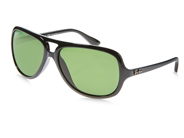 59fad63f85 Ray-Ban RB4162 Polarized Aviator Sunglasses