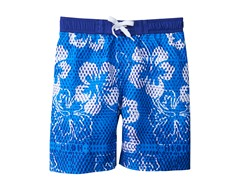 Swim Short - Hibiscus (Sizes 4-16)