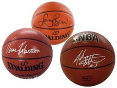 Vintage Era Autographed Basketballs