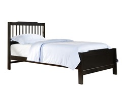 Captain Twin Bed Black