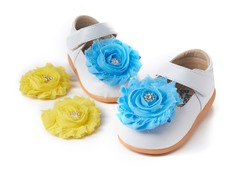 Squeaky Shoe - Lily, White (3-8)
