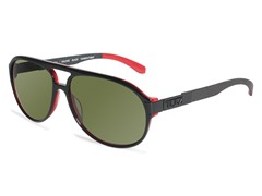 Malone Polarized Aviator, AF Black