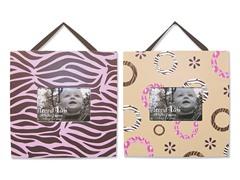 Sweet Safari Pink 2-Piece Frame Set