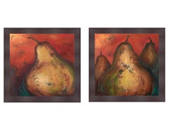 Pear Still Life Set of 2