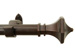 "18""- 48"" Hexagon Curtain Rod"