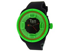 Ten Beats 3H Black/Green Watch