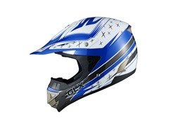 Youth Off-Road Helmet, Blue