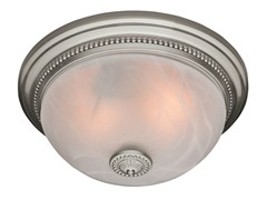 Ashbury Bath Fan, Brushed Nickel