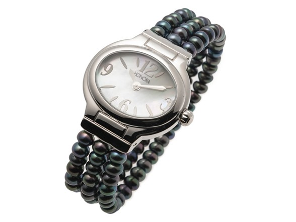Honora pearl bracelet watch 3 colors fashion for Pearl watches