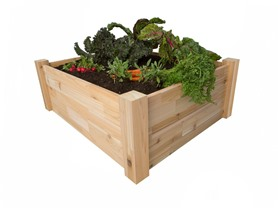 PatioCraft Raised Cedar Ground Planter