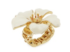Relic RJ1904710-ONE-SIZE Gold With Cream Hibiscus
