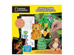 Rainforest Plaster Diorama Playset