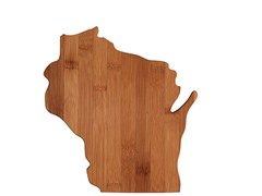 Totally Bamboo Wisconsin Cutting Board