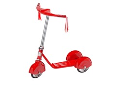 Retro Scooter- Red