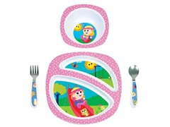 My Friend Emily-A-Lot 4-Pc Feeding Set