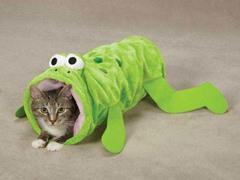 Zanies® Toad-ally Fun Cat Tunnel