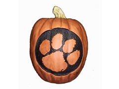 Resin Pumpkin - Clemson