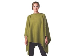 DHS Pleece Poncho - Apple Green